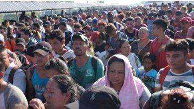 Photo of Llega mega caravana migrante a frontera sur; más de 4 mil esperan ingreso