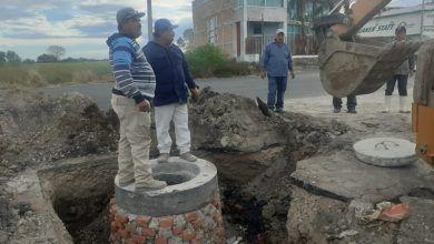 Photo of Rehabilita municipio drenaje sanitario en colonia 2 de febrero