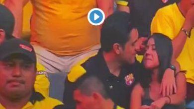 Photo of Aficionado del Barcelona de Ecuador se vuelve viral por polémico beso