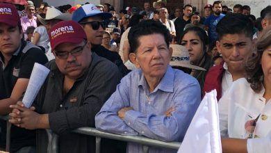 """Photo of MORENA en Pénjamo y sus """"suspirantes"""""""