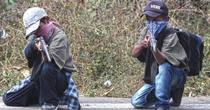 UNICEF enfurece por caso de niños armados: es acción forzada