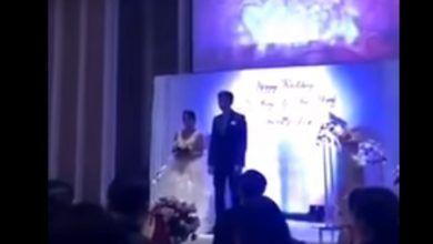 Photo of Chinita le pone el cuerno y el novio la exhibe el día de su boda con un video