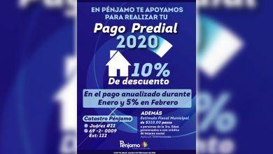 Photo of En Pénjamo te apoyamos en tu Pago Predial 2020