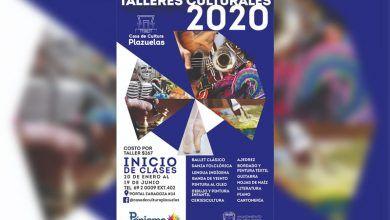 Photo of Inscríbete  a los Talleres de Casa de Cultura Plazuelas