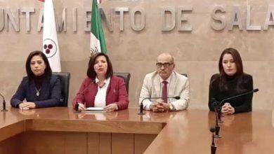 Photo of Alcaldesa de Salamanca pide apoyo a Diego Sinhue ante ola de violencia
