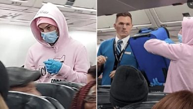 Photo of Youtuber finge tener coronavirus mientras viajaba en avión y es arrestado