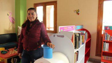 Photo of Taller de tarjetas y manualidades, en biblioteca de Huanímaro