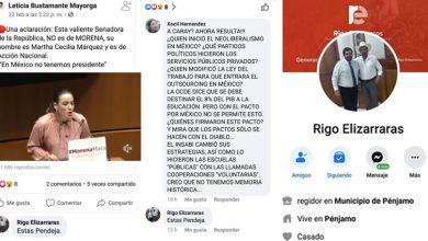 """Photo of """"Pendeja"""", así expresa regidor de MORENA de Pénjamo, contra senadora"""