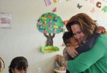 Photo of Rosalía Vela visita a niños de CAM y Preescolar Diego Rivera