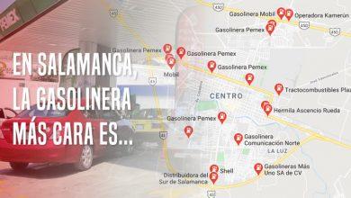 Photo of En Salamanca, la gasolinera más cara es…