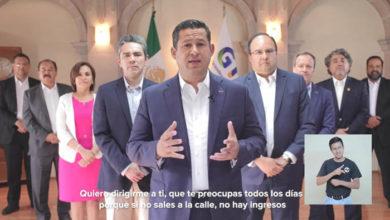 Photo of Gobernador de Guanajuato lanza paquete económico de ayuda