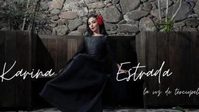 Photo of Karina Estrada «La voz de terciopelo» pone en alto la música mexicana
