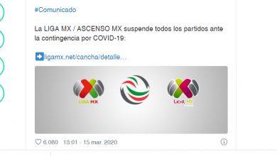 Photo of Liga MX: Cuándo se reanudarán los partidos del Clausura 2020 tras suspensión por coronavirus