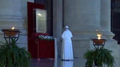 """Photo of """"Señor bendice al mundo…"""": Papa Francisco"""