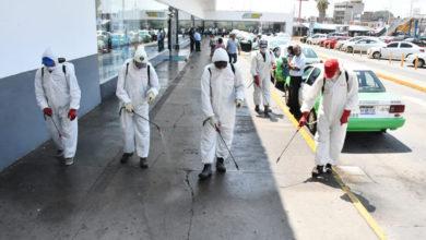 Photo of Aplican sanitizante en Central Camionera