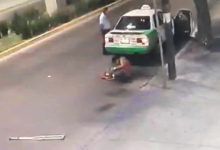 Photo of Video | Captan en video pelea entre taxista y discapacitado