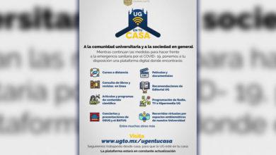 "Photo of Lanza UG plataforma web ""UG en tu casa"""