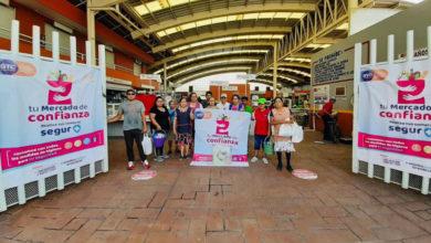 Photo of Se refuerza seguridad sanitaria en tianguis y mercados públicos