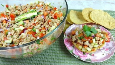 Photo of Receta: Ceviche de soya
